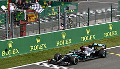 Hamilton cruises to Belgian GP win