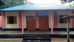 Santal families given homes from PM's fund in Dinajpur