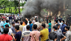 Students demonstrate in Sylhet city over gang rape at MC College