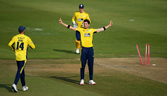 Afridi takes four in four balls in Hampshire's...