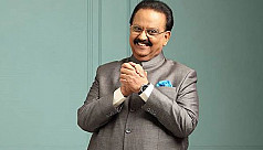 Celebrated Indian singer SP Balasubrahmanyam...