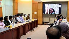 Sheikh Hasina to Awami League central...