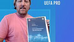 Jamie joins Uefa Pro club