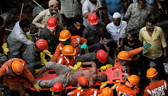 Death toll in India building collapse...
