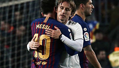 Modric: Messi leaving would be a huge...