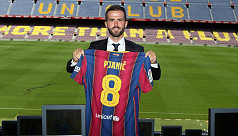 Pjanic delighted to play alongside...
