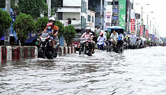 Highest ever rainfall in 60 years: Rangpur city under knee-deep water
