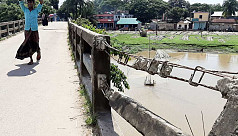 Sutang bridge turns into a death trap