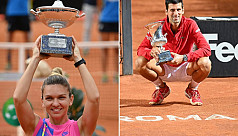 Djokovic earns 10 euros more than Halep in Rome