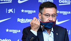 Bartomeu resigns as Barca president...