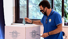 Italians vote in regional elections, referendum in test for coalition