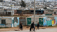 UN steps up Covid-19 measures at Syrian...