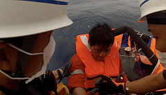 Search for ship survivors suspended...
