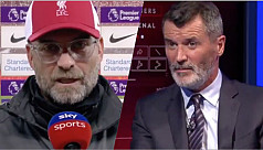 Klopp tackles Keane over Liverpool criticism