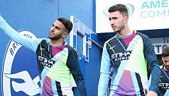 Mahrez and Laporte test positive for...