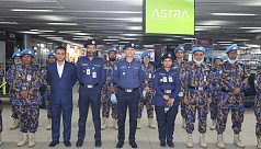 Female police contingent leaves for peacekeeping mission in Congo