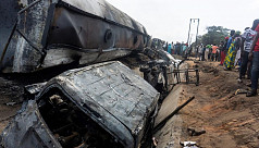 Nigeria fuel truck fire kills 23