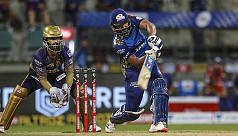 Sharma hits 80 as Mumbai break UAE jinx...