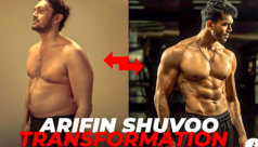 Watch: Arifin Shuvoo's transformation from dad bod to hunk
