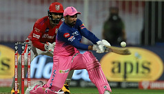 RR complete record IPL run chase with Tewatia's six spree