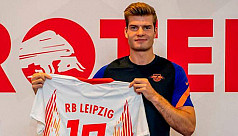 Leipzig sign Sorloth on five-year deal