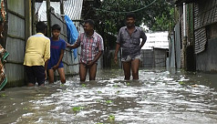 4th-time flood, Thakurgaon records worst rain in a decade