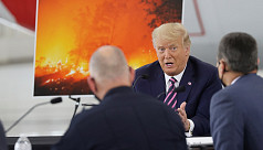 Trump, Biden clash over US wildfires as campaign turns to climate change