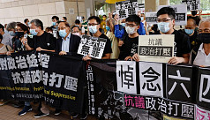 Two dozen Hong Kong activists in court...