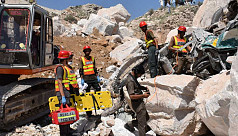 Marble quarry collapse in Pakistan kills...