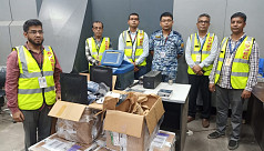 Customs seize 15kg amphetamine consignment at Dhaka airport