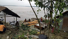 Displaced by river erosion, Kurigram...