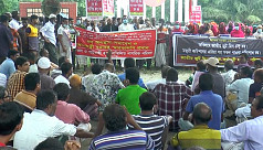 Demonstration held in Khulna and Sirajganj...