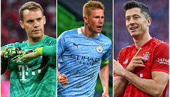 Lewandowski, Neuer and De Bruyne nominated for UEFA player prize