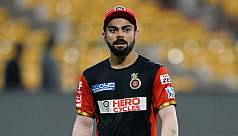 Kohli fined Rs 12 lakh for RCB's slow...