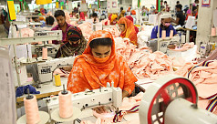 43% garment factories running with half workforce