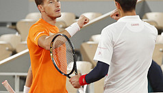 Busta accuses Djokovic of feigning...