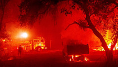 Wildfires burn 10,000 structures in California