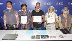3 held for making fake academic certificates in Dhaka