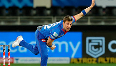 Nortje bowls fastest IPL ball
