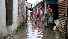 In pictures: Rain causes waterlogging