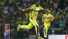 Chennai all-rounder Bravo out of...