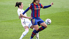 Real Madrid thrashed by Barca in first...