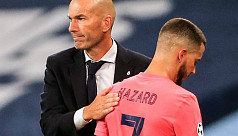 Zidane: Hazard annoyed with latest injury...