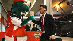 Ozil offers to pay salary of mascot...