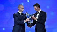 Lewandowski named Uefa men's player of the year