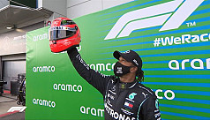 Hamilton takes 91st win to equal Schumacher's F1 record