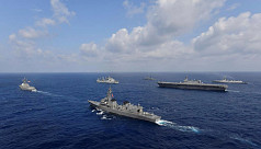 Eyeing China, Australia joins quad drill with US, Japan, India