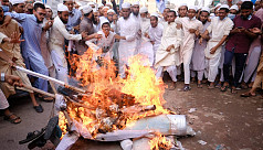 Prophet Muhammad cartoon protests: Demonstrators burn Macron's effigy in Dhaka