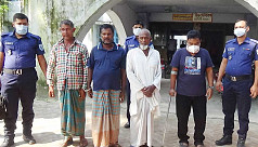 4 arrested for throwing beef at Hindu...