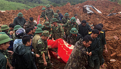 Landslide hits barracks in Vietnam, killing 14